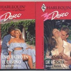 Libros de segunda mano - LOTE 2 NOVELAS *HARLEQUIN DESEO* - 38217244