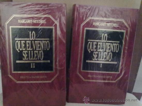 LO QUE EL VIENTO SE LLEVO -MARGARET MITCHELL (BIBLIOTECA GRANDES EXITOS) (Libros de Segunda Mano (posteriores a 1936) - Literatura - Narrativa - Novela Romántica)