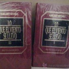 Libros de segunda mano: LO QUE EL VIENTO SE LLEVO -MARGARET MITCHELL (BIBLIOTECA GRANDES EXITOS). Lote 38303879