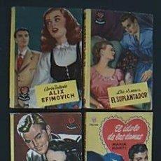 Libros de segunda mano: COLECCIÓN ROSAURA Y ORQUIDEA. EDITORIAL BRUGUERA. COMPRENDE LOS CUATRO EJEMPLARES QUE DETALLO. . Lote 38520255