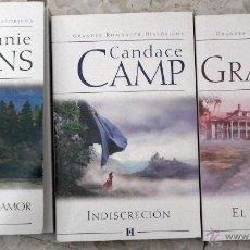 Libros de segunda mano: COLECCION GRANDES ROMANCES HISTORICOS - 3 LIBROS. Lote 39721759