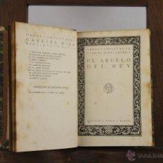 Libros de segunda mano: 4349- OBRAS COMPLETAS DE GABRIEL MIRO. EDIT. BIBLIOTECA NUEVA, S/F. 8 TITUOS. . Lote 41213354