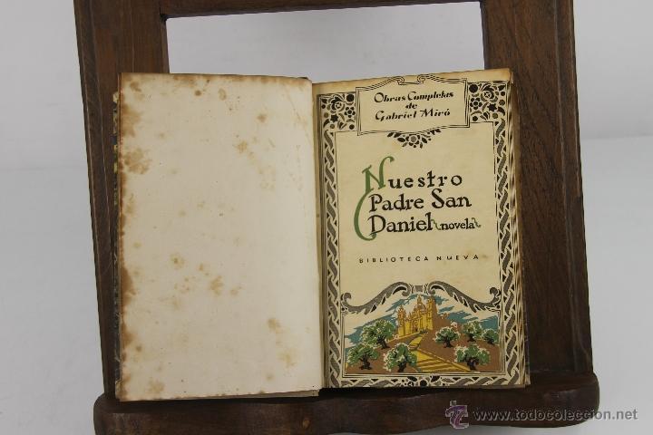 Libros de segunda mano: 4349- OBRAS COMPLETAS DE GABRIEL MIRO. EDIT. BIBLIOTECA NUEVA, S/F. 8 TITUOS. - Foto 3 - 152425228