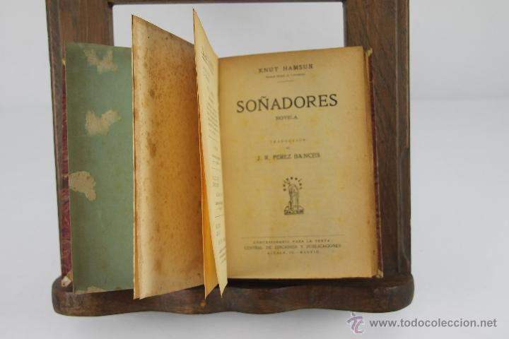 Libros de segunda mano: 4354- KNUT HAMSUN. COLECCION DE 6 TITULOS. VARIAS EDITORIALES Y TITULOS. AÑOS 30/40. - Foto 3 - 41260403