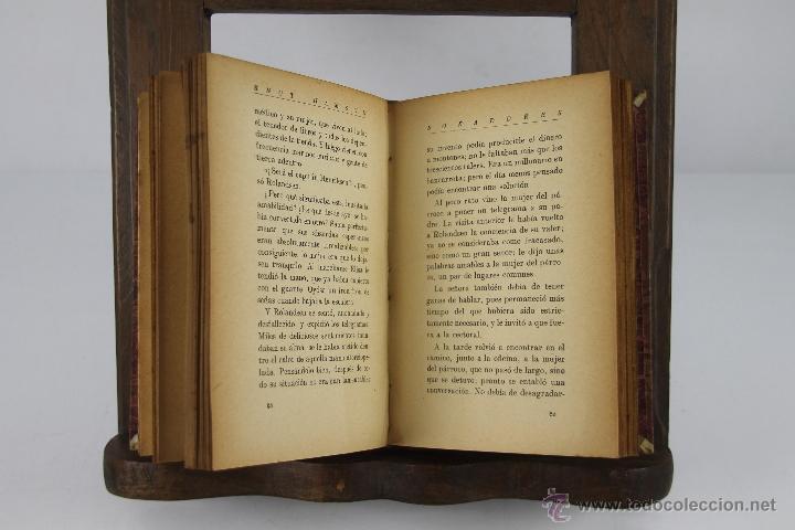 Libros de segunda mano: 4354- KNUT HAMSUN. COLECCION DE 6 TITULOS. VARIAS EDITORIALES Y TITULOS. AÑOS 30/40. - Foto 4 - 41260403