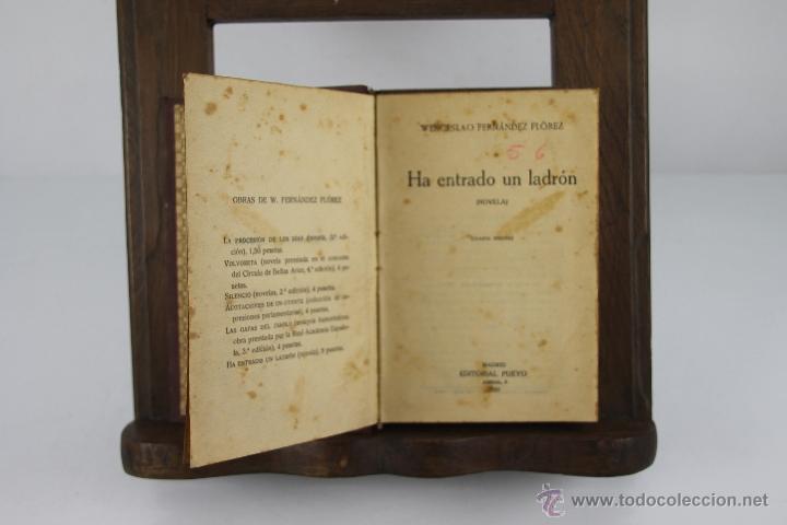 Libros de segunda mano: 4355- WENCESLAO FERNANDEZ FLOREZ. COLECCION DE 14 TITULOS. VARIAS EDIT. Y TITULOS AÑOS 30/40. - Foto 3 - 41260917