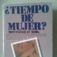 Libros de segunda mano: ¿ TIEMPO DE MUJER ?. Lote 41263811
