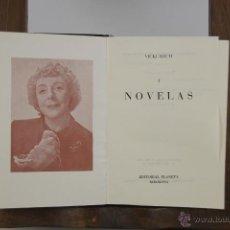 Libros de segunda mano: 4417- VICKI BAUM. NOVELAS. EDIT. PLANETA. 1955/1960. 2 VOL. . Lote 41335804
