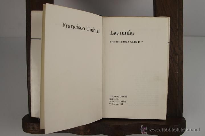 Libros de segunda mano: 4474- COLECCION ANCORA Y DELFIN. EDIT. DESTINO. AÑOS 60. 20 TITULOS. VER DESCRIPCION. - Foto 2 - 41433757