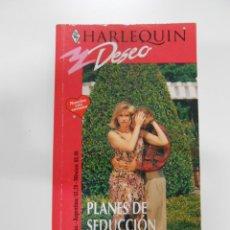 Libros de segunda mano: NOVELA ROSA. HARLEQUIN Nº 691. DESEO. PLANES DE SEDUCCION. TDK174. Lote 41991864