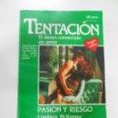 Libros de segunda mano: NOVELA ROSA. HARLEQUIN Nº 94. TENTACION. PASION Y RIESGO. LINDSAY MCKENNA. TDK174. Lote 136530921