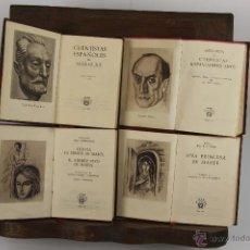Libros de segunda mano: D-365. LOTE DE 8 TITULOS, COLECCION CRISOL. EDIT. AGUILAR. AÑOS 50. . Lote 42772892