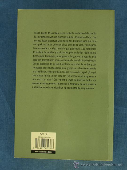 Libros de segunda mano: LA CASA MALDITA. BARBARA WOOD. Col. Best Seller DeBolsillo, 2004, 3ª Ed. Libro de bolsillo - Foto 2 - 42784963