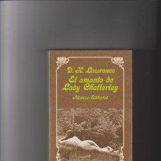 Libros de segunda mano: EL AMANTE DE LADY CHATTERLEY - D.H.LAWRENCE - ALIANZA EDITORIAL 1996. Lote 43659345