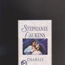 Libros de segunda mano: STEPHANIE LAURENS - DIABLO - EDICIONES B 2006. Lote 44174327