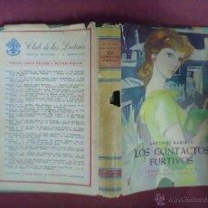 Libros de segunda mano: ANTONIO RABINAD LOS CONTACTOS FURTIVOS 1ª EDICION JOSE JANES 1956. Lote 44936594