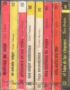 Libros de segunda mano: MINI LIBROS BRUGUERA SERIE ROSA - CORIN TELLADO, ROSA ALCAZAR,NYLHAMA,CLOTILDE MENDEZ - Foto 2 - 173806004