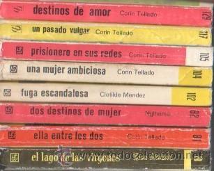 Libros de segunda mano: MINI LIBROS BRUGUERA SERIE ROSA - CORIN TELLADO, ROSA ALCAZAR,NYLHAMA,CLOTILDE MENDEZ - Foto 4 - 173806004