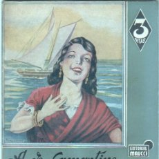 Libros de segunda mano: COLECCION AZUL - EDI. MAUCCI - A. DE LAMARTINE - GRAZIELLA - AÑOS 30-40 - 22,7 X 17 CMS.. Lote 45971719