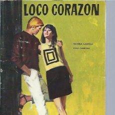 Libros de segunda mano: LOCO CORAZÓN, NOVELA GRÁFICA PARA ADULTOS, CHERIE 60, SEMIC ESPAÑOLA DE EDS. BARCELONA. Lote 47295077