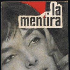 Libros de segunda mano: LA MENTIRA - ANTONIO LOSADA - 1ª EDICION 1961 - COMERCIAL NESTLE - NOVELA RADIOFONICA. Lote 47565661