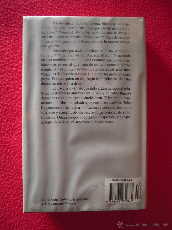 Libros de segunda mano: LA REGLA DE TRES - ANTONIO GALA - Foto 2 - 47619879