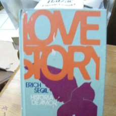 Livres d'occasion: LIBRO LOVE STORY ERICH SEGAL L-809-193. Lote 47776840