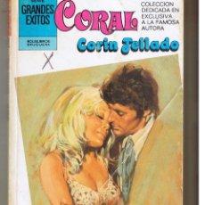 Libros de segunda mano: CORAL. Nº 734. OLVIDALO. CORIN TELLADO. BRUGUERA. (C/A43). Lote 47837483