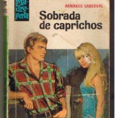 Libros de segunda mano: MADREPERLA. Nº 1012. SOBRADA DE CAPRICHOS. ARMANDO SANDOVAL. BRUGUERA. (C/A43). Lote 48193875