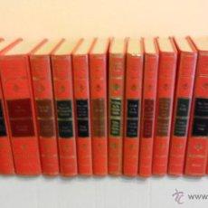Libros de segunda mano: LOTE 15 LIBROS PREMIO PLANETA EN GUAFLEX ROJO, SEGÚN LISTA PESO 5 KG.. Lote 48493131