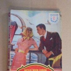 Libros de segunda mano: UN MARIDO EN AMERICA - MATILDE REDON CHIRONA - PIMPINELA 129 - 1940 O 1949. Lote 48588363