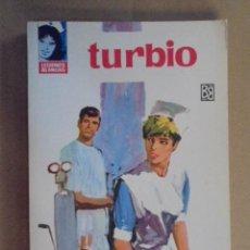 Libros de segunda mano: TURBIO - MARIA NIEVES GRAJALES / LEGIONES BLANCAS Nº 130 - DESILO 1966 - 1ª EDIC - IMPECABLE ESTADO. Lote 48618275