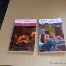 Libros de segunda mano: BIANCA, 2 NOVELAS EN DOS TOMOS, MUY BUEN ESTADO. Lote 49232986