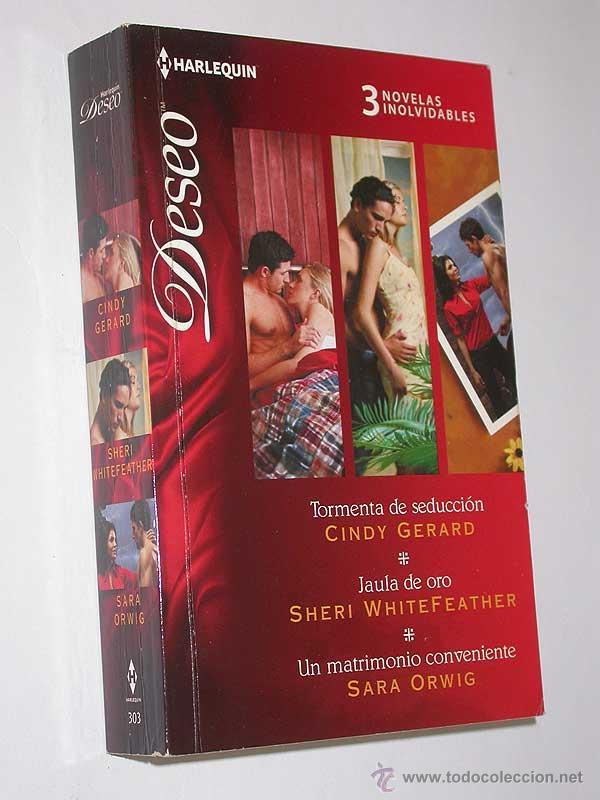 TORMENTA DE SEDUCCIÓN / JAULA DE ORO / UN MATRIMONIO CONVENIENTE. 3 NOVELAS DESEO HARLEQUIN, 2012 (Libros de Segunda Mano (posteriores a 1936) - Literatura - Narrativa - Novela Romántica)