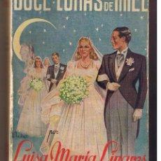 Libros de segunda mano: DOCE LUNAS DE MIEL. LUISA MARIA LINARES. EDT. JUVENTUD 1941 (P/D4). Lote 49875818