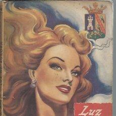 Libros de segunda mano: LUZ DE AURORA, JULIA MÉLIDA, COLECCIÓN AMAPOLA ENRIQUE MESEGUER EDITOR BARCELONA . Lote 50036012