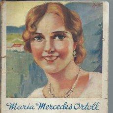 Libros de segunda mano: AMBICIONES DE MUCHACHA, MARÍA MERCEDES ORTOLL, LA NOVELA ROSA MADRID . Lote 50036021