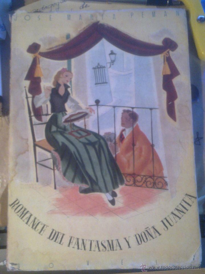 ROMANCE DEL FANTASMA Y DOÑA JUANITA - (Libros de Segunda Mano (posteriores a 1936) - Literatura - Narrativa - Novela Romántica)