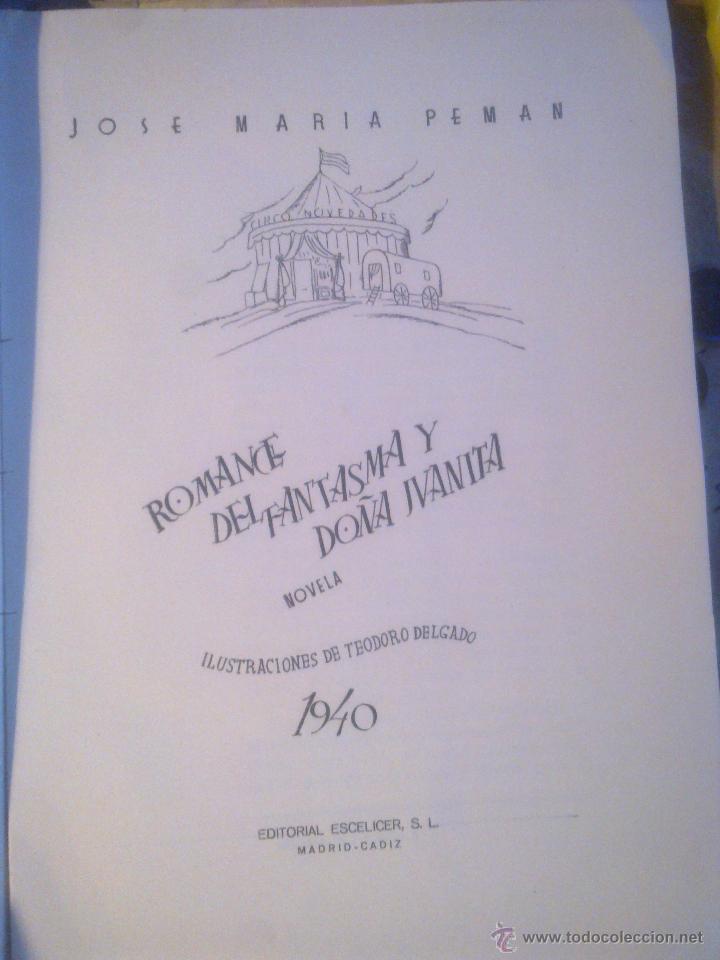 Libros de segunda mano: ROMANCE DEL FANTASMA Y DOÑA JUANITA - - Foto 2 - 50065815