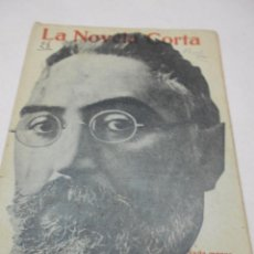 Libros de segunda mano: UNAMUNO: NADA MENOS QUE TODO UN HOMBRE. NOVELA INEDITA. LA NOVELA CORTA Nº 28. 1916,. Lote 51031889