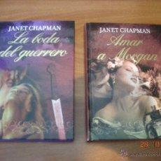 Libros de segunda mano: LOTE DE LIBROS DE NOVELA ROMANTICA EN TAPA DURA DE LA EDITORIAL RBA DE JANET CHAPMAN. Lote 51229043