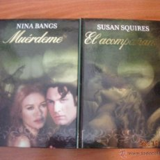 Libros de segunda mano: LOTE DE LIBROS DE NOVELA ROMANTICA EN TAPA DURA DE LA EDITORIAL RBA. Lote 51229614