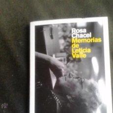 Libros de segunda mano: MEMORIAS DE LETICIA VALLE DE ROSA CHACEL - COLECCION VOCES CRITICAS. Lote 51231779