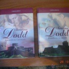 Libros de segunda mano: LOTE DE LIBROS DE NOVELA ROMANTICA EN TAPA DURA DE LA EDITORIAL RBA. Lote 51378345