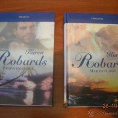 Libros de segunda mano: LOTE DE LIBROS DE NOVELA ROMANTICA EN TAPA DURA DE LA EDITORIAL RBA. Lote 51378407
