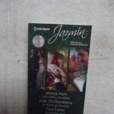 Libros de segunda mano: NOVELA ROMANTICA JAZMIN - 3 NOVELAS INOLVIDABLES DE VARIOS AUTORES . Lote 51649628