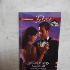 Libros de segunda mano: NOVELA ROMANTICA DESEO - UN COMPROMISO EXCLUSIVO DE ANDREA LAURENCE . Lote 52018994
