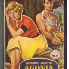 Libros de segunda mano: MADREPERLA. Nº 378. AGONIA DE ODIOS. ARMANDO SANDOVAL. LLUVIA ESTRELLAS: DANI CRAYNE. 1956.(ST/31). Lote 52351808