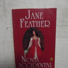 Libros de segunda mano: NOVELA ROMANTICA - NOVIA ACCIDENTAL DE JANE FEATHER . Lote 52436625
