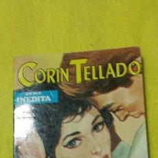 Libros de segunda mano: CORÍN TELLADO. SERIE INÉDITA Nº 272. A BORDO VIAJA EL DESTINO. ROLLÁN 1971.. Lote 52658545